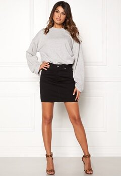 Dr. Denim Bix Denim Skirt Black Bubbleroom.eu