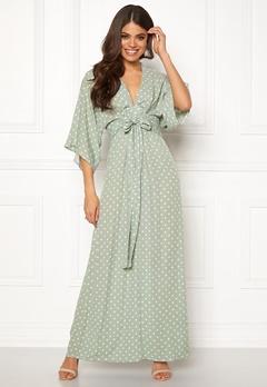 Blue Vanilla Kimono Sleeve Maxi Dress Mint Bubbleroom.eu