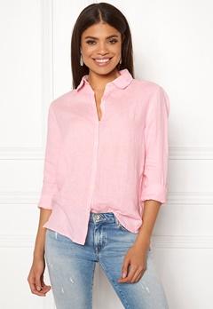 Boomerang Lina Linen Shirt Middway Pink Bubbleroom.eu