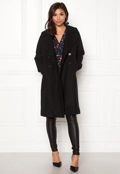 Boomerang Spell Wool Coat Black Bubbleroom.eu