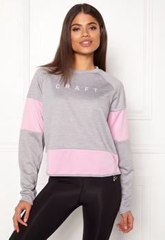 Craft Breakaway Jersey Sweater Grey Melange Bubbleroom.eu
