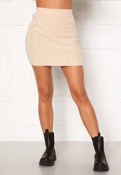 BUBBLEROOM Aisha knitted skirt Cream Bubbleroom.eu