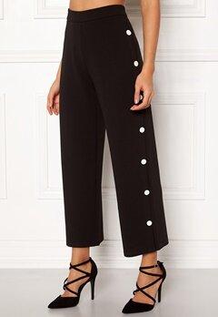BUBBLEROOM Alexa button trousers Black / White Bubbleroom.eu
