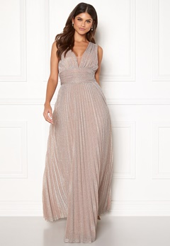 BUBBLEROOM Amalfi evening dress Champagne Bubbleroom.eu