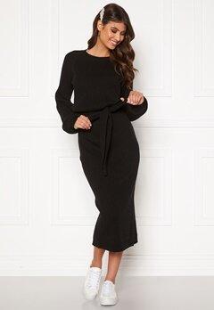 BUBBLEROOM Amira knitted dress Black Bubbleroom.eu