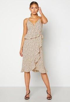 BUBBLEROOM Analisa dress Beige / Black / Dotted Bubbleroom.eu