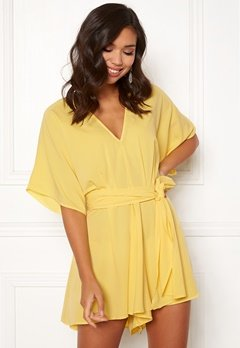 BUBBLEROOM Andy kimono playsuit Light yellow Bubbleroom.eu