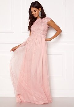 BUBBLEROOM Ariella prom dress Light pink Bubbleroom.eu