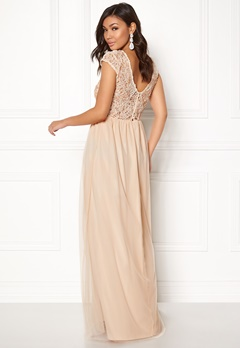 BUBBLEROOM Ariella prom dress Champagne Bubbleroom.eu