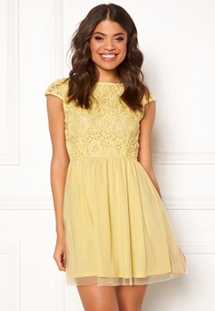 BUBBLEROOM Ayla dress Light yellow Bubbleroom.eu