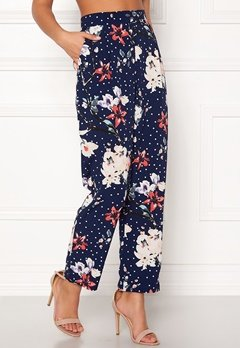 BUBBLEROOM Barbara trousers Blue / Dotted Bubbleroom.eu