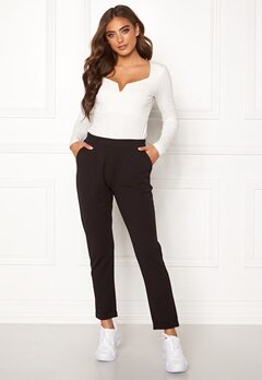 BUBBLEROOM Bonita soft suit pant Black Bubbleroom.eu