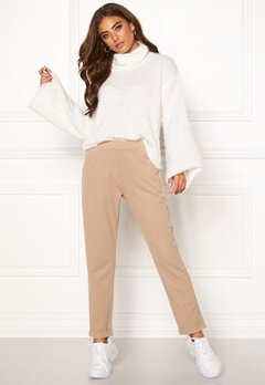 BUBBLEROOM Bonita soft suit pant Light nougat Bubbleroom.eu