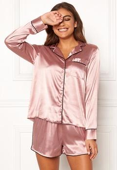 BUBBLEROOM Brenda pyjama set Dusty pink Bubbleroom.eu