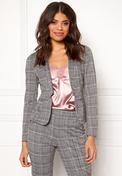BUBBLEROOM Brienne blazer Grey / Checked Bubbleroom.eu