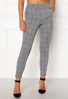 BUBBLEROOM Brienne trousers Grey / Checked Bubbleroom.eu
