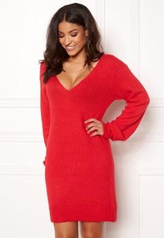 BUBBLEROOM Brooke knitted dress Red Bubbleroom.eu