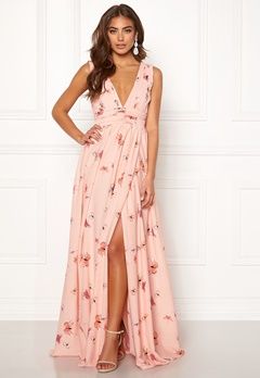 BUBBLEROOM Carolina Gynning Butterfly gown  Light pink / Patterned Bubbleroom.eu
