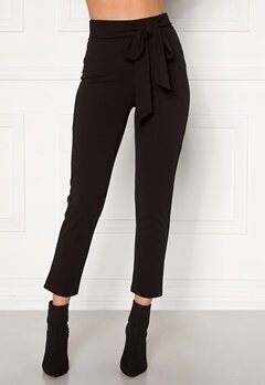 BUBBLEROOM Dilara straight leg trousers Black Bubbleroom.eu