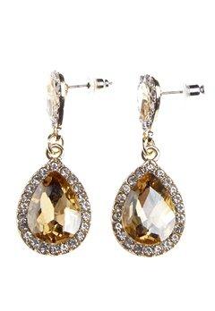 BUBBLEROOM Drops crystal earring Gold Bubbleroom.eu