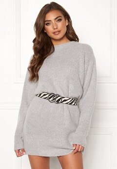 BUBBLEROOM Elsie knitted sweater Grey Bubbleroom.eu