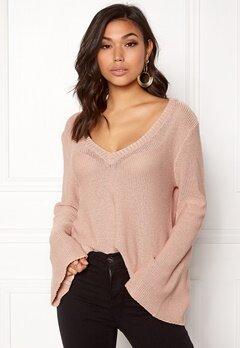 BUBBLEROOM Esther knitted sweater Dusty pink Bubbleroom.eu