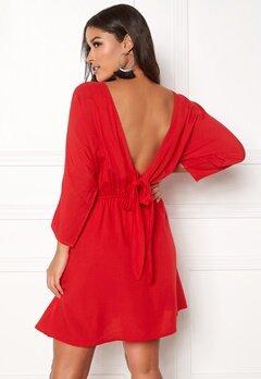 BUBBLEROOM Faviola reversible dress Red Bubbleroom.eu