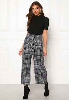 BUBBLEROOM Felicia trousers Grey / Checked Bubbleroom.eu