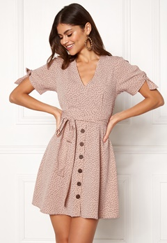 BUBBLEROOM Florine dress Beige / Dotted Bubbleroom.eu