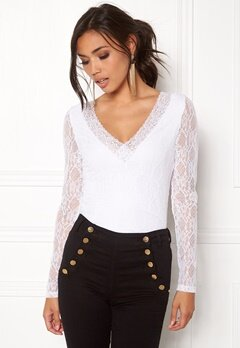 BUBBLEROOM Ivy lace Top White Bubbleroom.eu