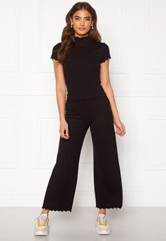BUBBLEROOM Jessie rib trousers Black Bubbleroom.eu