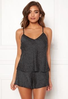 BUBBLEROOM Laila pyjama singlet Black / White / Dotted Bubbleroom.eu