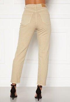 BUBBLEROOM Lana high waist jeans Beige Bubbleroom.eu