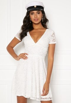 BUBBLEROOM Lexi lace dress White Bubbleroom.eu