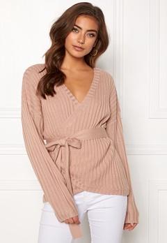 BUBBLEROOM Lillyanne knitted sweater Dusty pink Bubbleroom.eu