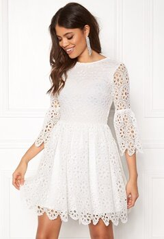 BUBBLEROOM Litzy Dress White Bubbleroom.eu
