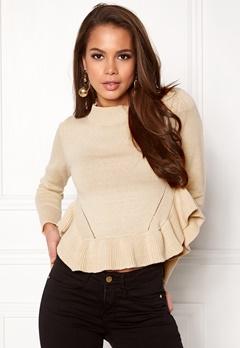 BUBBLEROOM Livia knitted sweater Beige Bubbleroom.eu