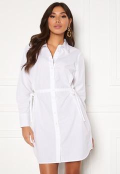 BUBBLEROOM Lorina shirt dress White Bubbleroom.eu