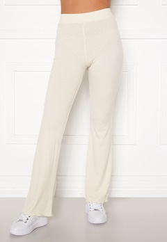 BUBBLEROOM Lykke rib trousers Cream Bubbleroom.eu