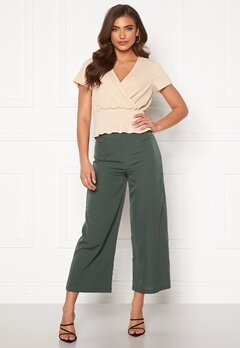 BUBBLEROOM Maja culotte trousers Green Bubbleroom.eu