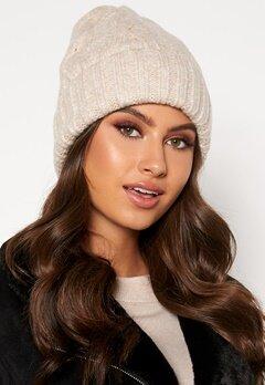 BUBBLEROOM Malin knitted hat Beige Bubbleroom.eu