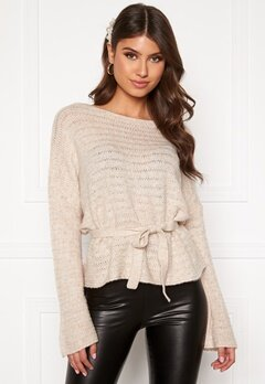 BUBBLEROOM Malin knitted sweater Beige Bubbleroom.eu