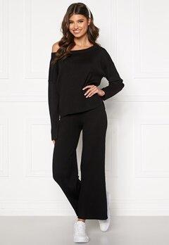 BUBBLEROOM Marah knitted trousers Black Bubbleroom.eu