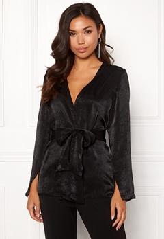 BUBBLEROOM Marianna blazer blouse Black Bubbleroom.eu