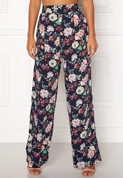 BUBBLEROOM Marianna wide trousers Blue Bubbleroom.eu
