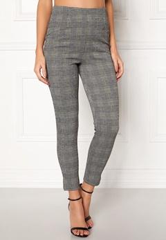 BUBBLEROOM Megan trousers Grey / Yellow / Checked Bubbleroom.eu