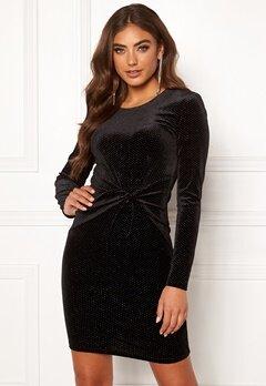 BUBBLEROOM Mila sparkling dress Black / Silver Bubbleroom.eu