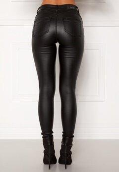 BUBBLEROOM Miranda Push-up coated jeans Black Bubbleroom.eu