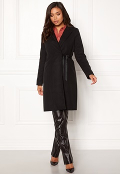 BUBBLEROOM Molly classic coat Black Bubbleroom.eu