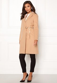 BUBBLEROOM Molly classic coat Camel Bubbleroom.eu